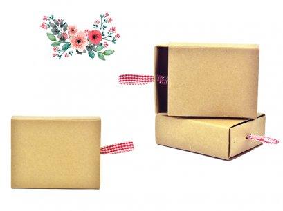 กล่องลิ้นชักกระดาษคราฟท์ KB35