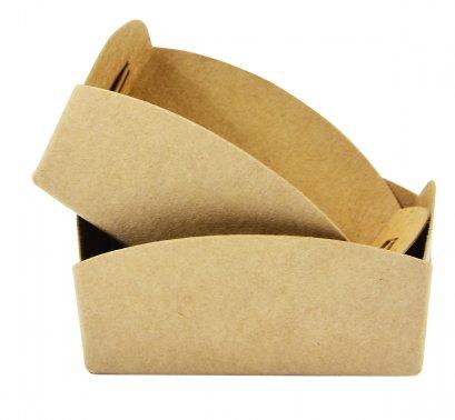 ถาดรองถุงขนม กระดาษคราฟท์ สำหรับถุงจีบ 7 x 11 นิ้ว