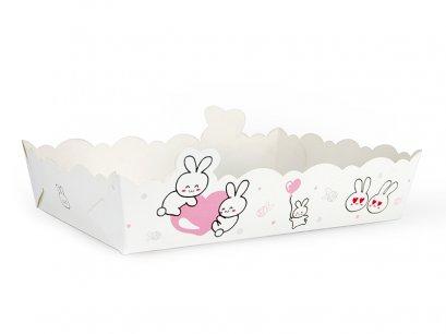 ถาดขนม กระต่าย (เล็ก)