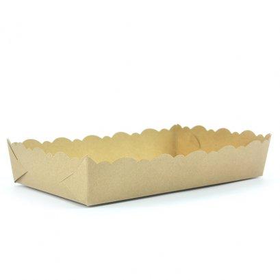 ถาดขนมกระดาษคราฟท์