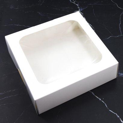 WB20 กล่องเบเกอรี่สี่ขาว
