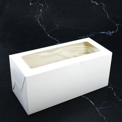 WB48 กล่องเบเกอรี่สีขาว กล่องบัตเตอร์เค้ก