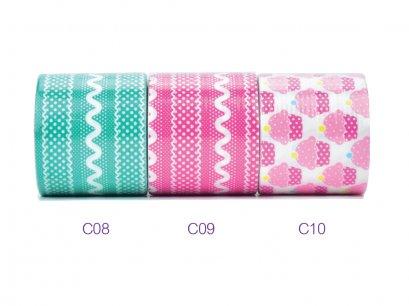 เทปผ้า C08-C10