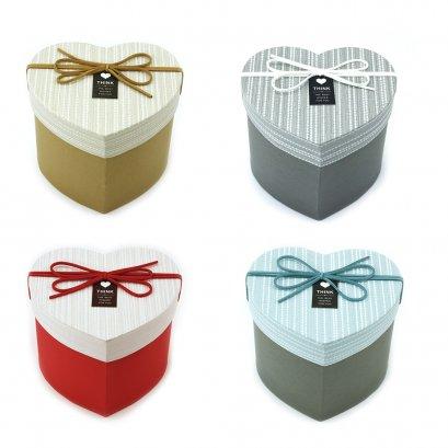 กล่องสำเร็จรูป หัวใจเล็ก  4 สี