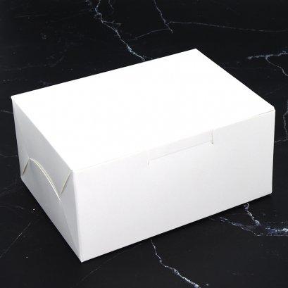 กล่องเบเกอรี่ สีขาว WB19