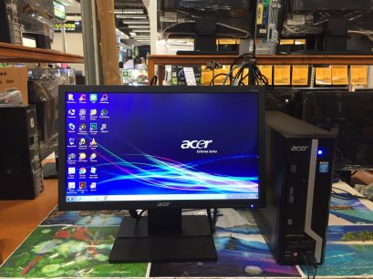 "ครบชุด Acer Veriton X2630G Core i5-4440@ 3.10GHz (GEN4) VGA GeForce GT620 1.0 G + LCD 19"" Wide"