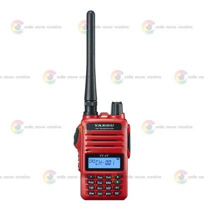 YAESU วิทยุสื่อสาร  FT-4T  กำลังส่ง 5 วัตต์  245-246 Mhz ถูกกฏหมาย