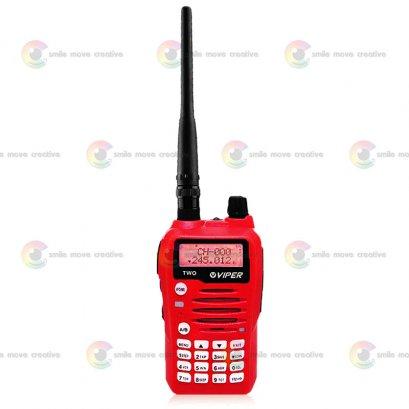 Viper 2 วิทยุสื่อสาร Viper Two 1 ชุด ใช้งาน 2 ช่องใช้งาน อุปกรณ์ครบชุด 5 วัตต์ ถูกกฏหมาย