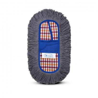 ผ้าอะไหล่ม็อบดันฝุ่น ขนาด 15 นิ้ว สำหรับแป้นพลาสติก