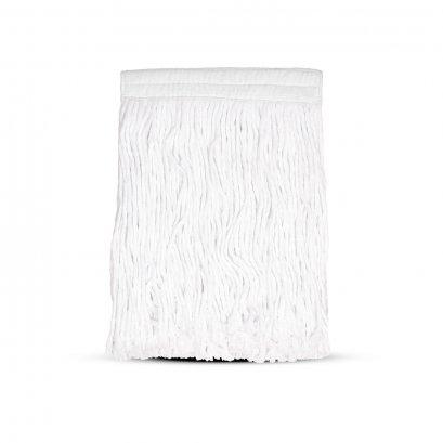 ผ้าอะไหล่ม็อบ ขนาด 10 นิ้ว  A สีขาว Cotton
