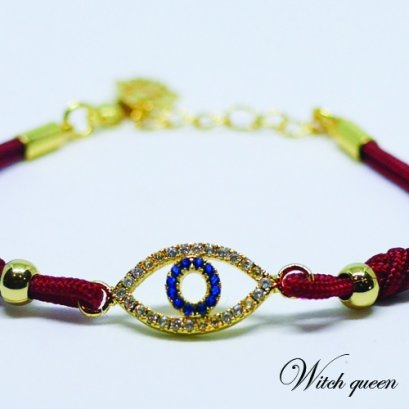 Eye of Horus bracelet (red)
