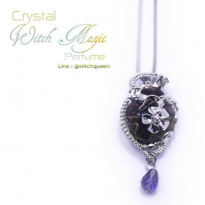 Crystal Witch Magic Perfume สีม่วง