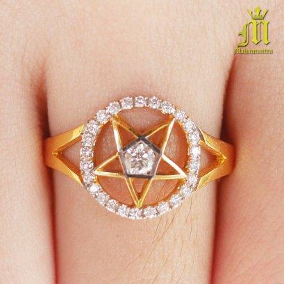 Diamond Ring Pentacle