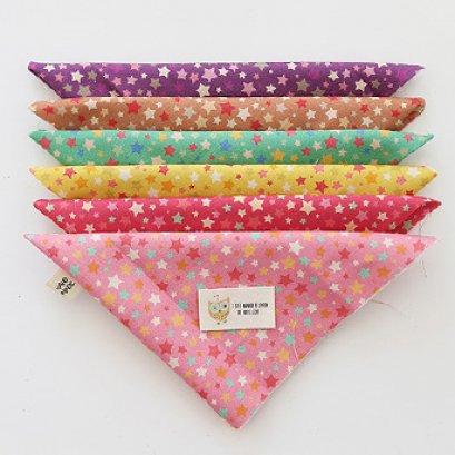 ผ้า cotton เกาหลี เซท 6 ชิ้น  ขนาด 27.5 x 45 cm.