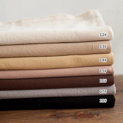 ผ้าทอสีพื้น ขนาด 1/8 m. (25 x 70 cm.)  เลือกสีด้านในค่ะ