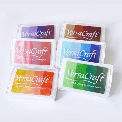 Ink pad รวมโทนสี หมึกปั๊ม สามารถใช้ได้กับผ้า กระดาษ ไม้