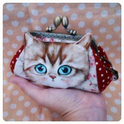 ชุด Cat Pikpak Small Kit ขนาดปากกระเป๋า 10 cm. (ชุดนี้ไม่มีเข็มและด้ายนะคะ)