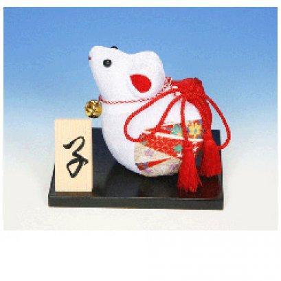ชุดอุปกรณ์ตุ๊กตาหนู ผ้าญี่ปุ่น ขนาด 12*9*9.7 cm.