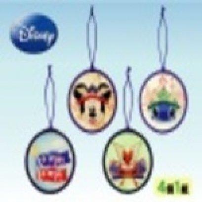 ชุดคิเมะโคะมิ set Disney ขนาด 10.6 ซม. 1 set มี 4 อัน