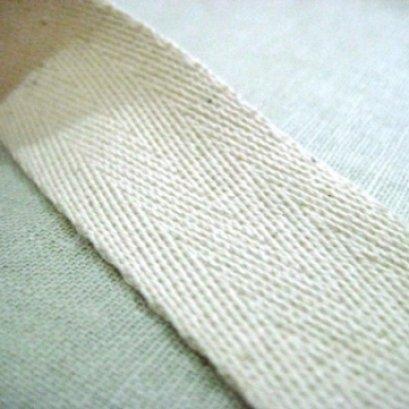 สายกระเป๋า cotton เนื้อนิ่ม ขนาด 2.5 ซม. ราคา/หลา  (90 cm.)