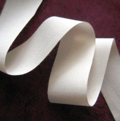 เทปผ้า cotton เนื้อละเอียด หน้ากว้าง 3 ซม. ราคา/หลา
