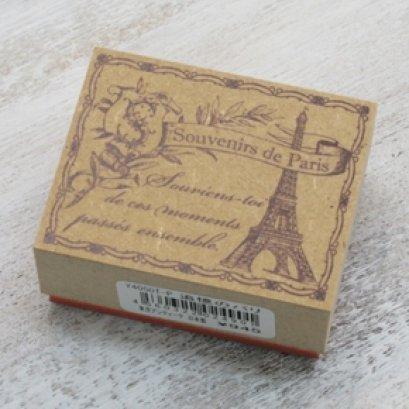 Stamp ลายปารีส ขนาด 4*5 cm.