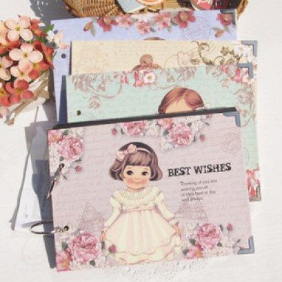 **Sales 50%** Album สำหรับเก็บรูปภาพ หรือทำเป็น Friend Book ก็ได้ ขนาด 15.8*21.8 cm. มีให้เลือก 4 ลาย