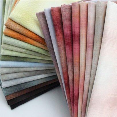 ผ้าทอ ขนาด 1/8 m. (25 x 70 cm.)  มีให้เลือก 24 สีค่ะ