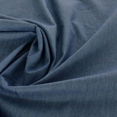 ผ้า Cotton ยีนส์เนื้อนิ่มสีเข้ม  ขนาด 1/4 หลา (50 x 70 cm.)
