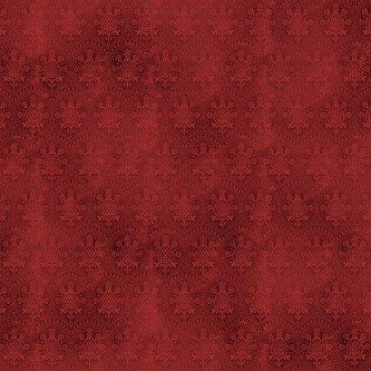 ผ้าอเมริกาลายดอกโทนแดง สำหรับ mat ผ้าน้องผมดำ ขนาด 45 x 55 ซม.