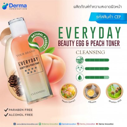 Everyday Beauty Egg & Peach Toner