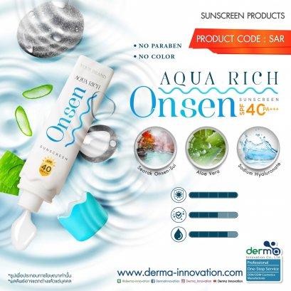 Aqua Rich Onsen Sunscreen SPF40 PA+++