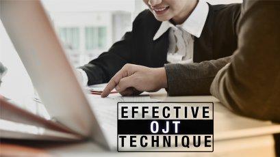 Effective OJT Technique