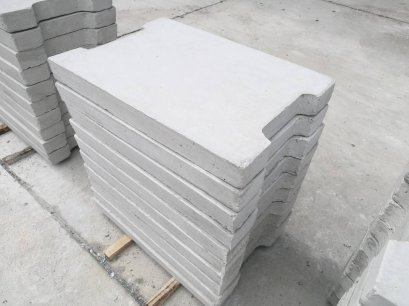 ฝารางระบายน้ำ คสล (สำหรับทางเท้า) 混凝土排水槽盖(人行道使用)