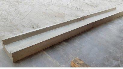 รางยู ร่องระบายน้ำแบบตื้น เหลี่ยม รางตื้น (Shallow Drain) (Spoon Drain) U型排水槽,浅排水槽