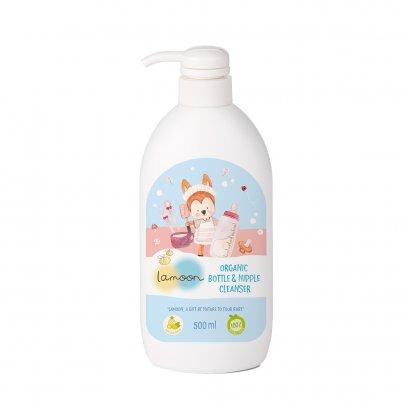 Lamoon Organic Nipple & Bottle Cleanser 500 ml.