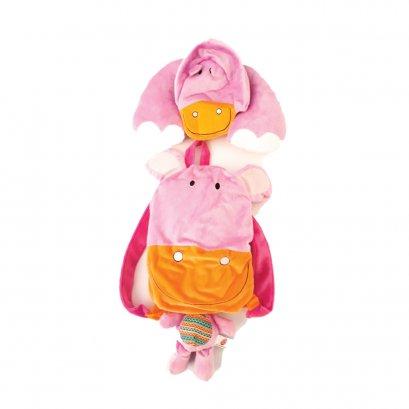 Mini Bear หมอนผ้าห่ม - ฮิปโป