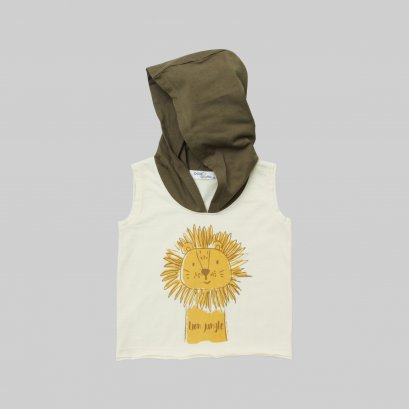 Dolce Orsetto Tanktop shirt with Hood Collection Safari