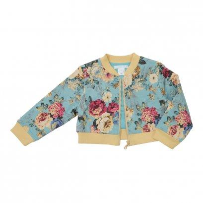 Dolce Orsetto เสื้อแจ๊คเกตหญิง Bomber Jacket - สีน้ำเงิน