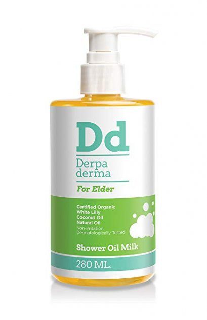 Derpa Derma shower oil milk for dry and sensitive skin