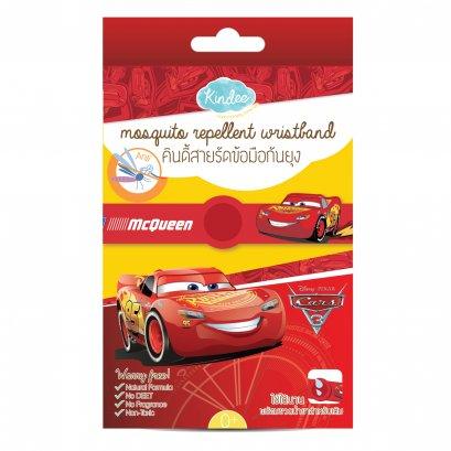 คินดี้ สายรัดข้อมือกันยุง Cars พร้อมน้ำยาเติม (กลิ่นตะไคร้)