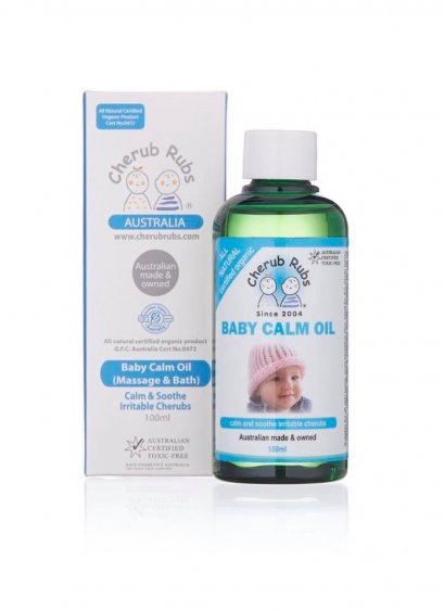 Cherub Rubs Baby Calm Oil 100 ml