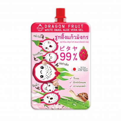 FUJI DRAGON FRUIT WHITE SNAIL ALOE VERA GEL