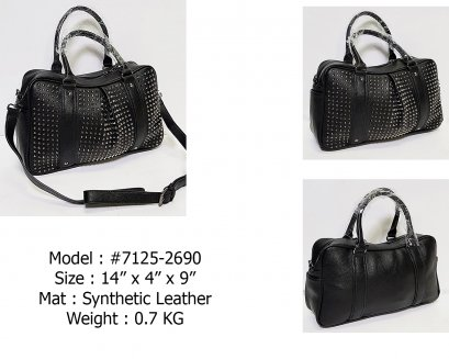 #7125-2  Synthetic Leather Bag