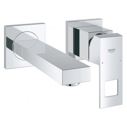 2 hole Wall-mounted single-lever basin mixer