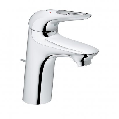 EUROSTYLE NEW basin mixer with pop-up waste set GROHE ZERO