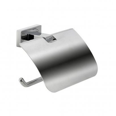 INDA Toilet paper holder with cover