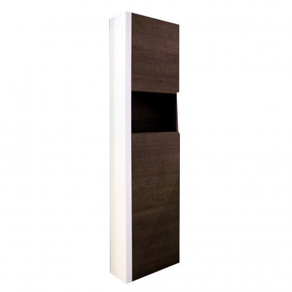 INDA High cabinet 2 splay 40x21x160 cm. Left