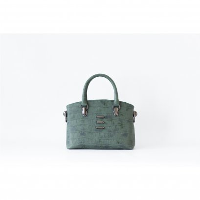 DEAR - STRUCTURED HANDBAG FOREST GREEN