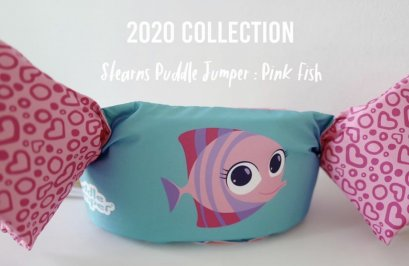 Holihi Accessories/ Puddle Jumper (Pink Fish)